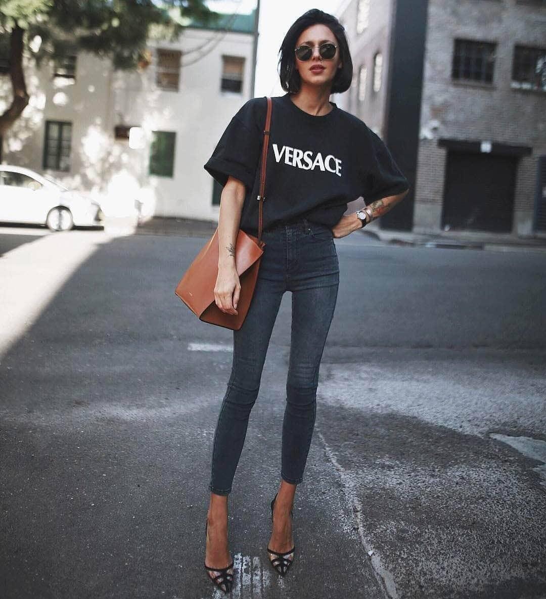 Comfy Black T Shirt
