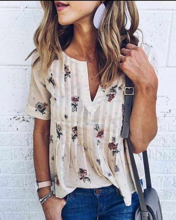 Flowing, Hippie, Free Spirit Top