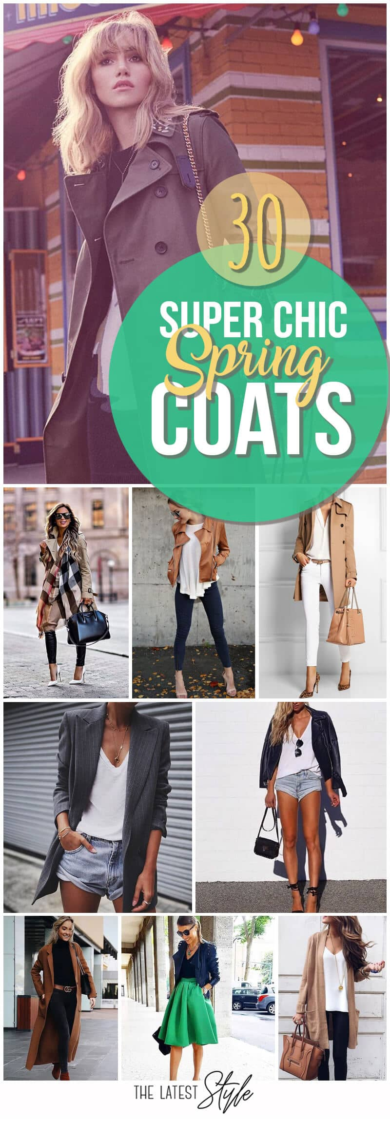 Spring Coat Outfits