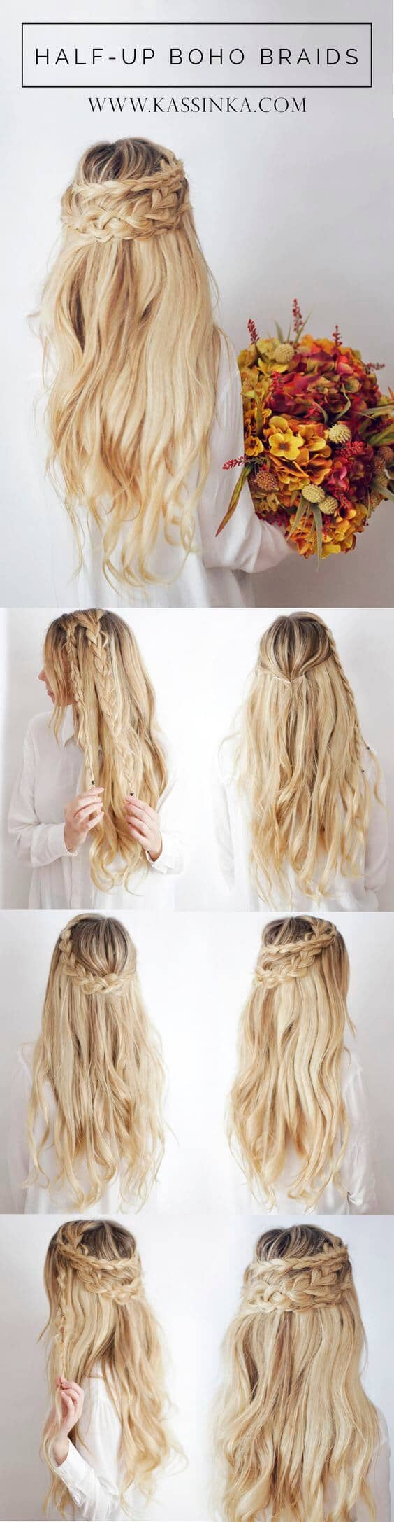 Boho Crown Braid
