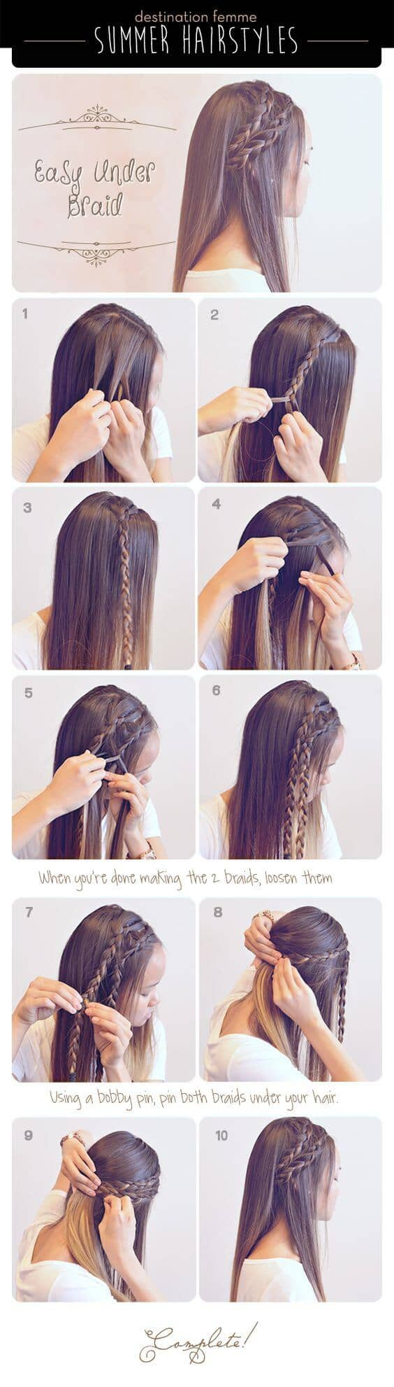 Double Side Braids