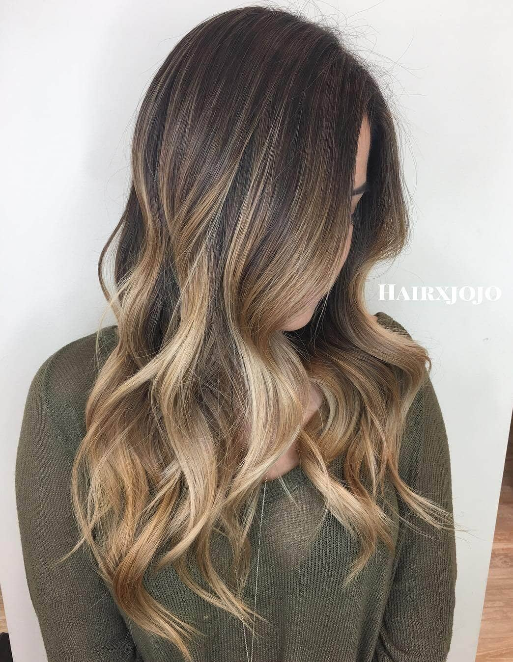 Easy Ombre Golden Tips