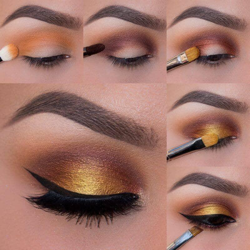 Golden Shimmer Pop