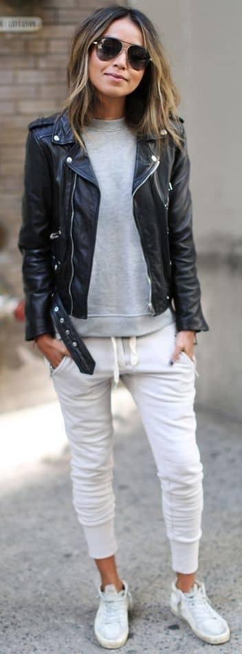 Jacket With Sweats