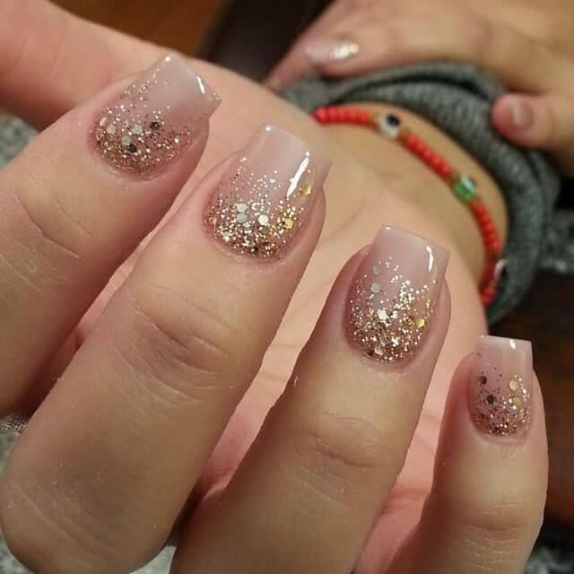 Glittering Wedding Nail Polish