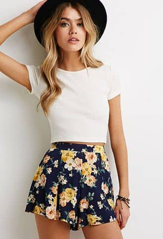 Floral Fun With Contemporary Fashion