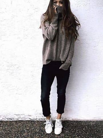 Tunic And Sneakers