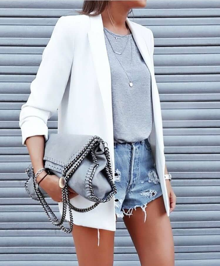 Jacket And Shorts