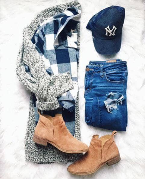 Boots And Plaid