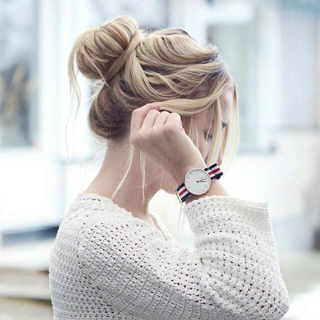 Cute Hairstyle with a Romantic Look