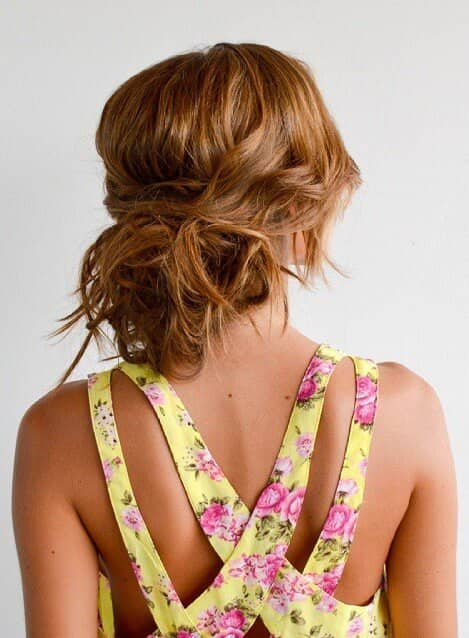 Super Casual and Relaxed Hair Bun