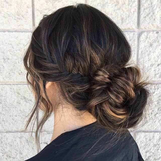 Braided Updo for Long Hair
