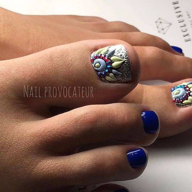 50 Spread A Little Culture On Your Nails