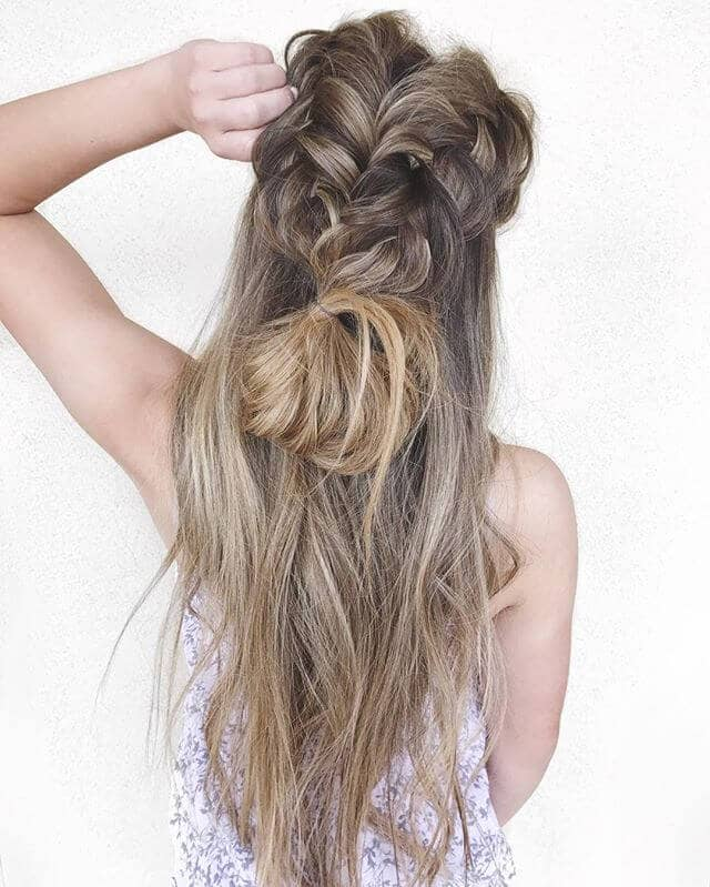 Hair Ideas with Messy Braids
