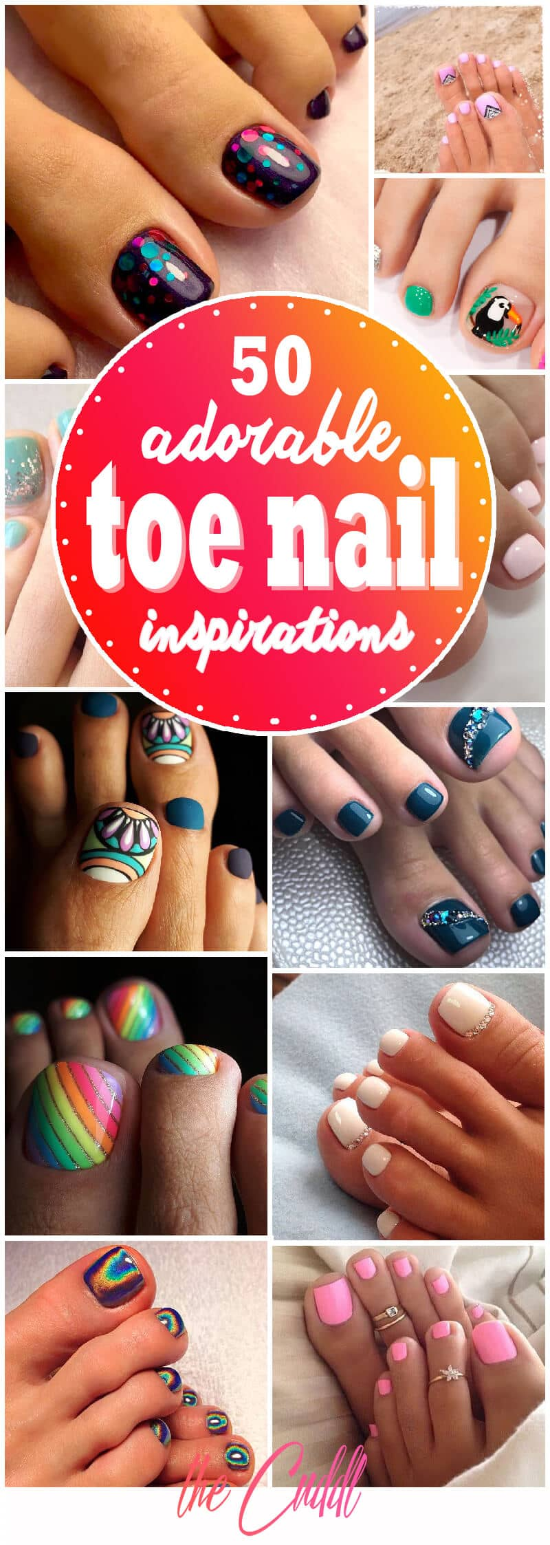Summer Nail Colors 2018 Toes