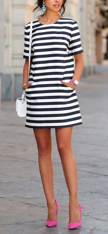 257ae7abd86 35 Pretty Summer Outfits With Stripes