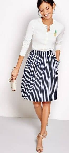 5e76f468cfd 35 Pretty Summer Outfits With Stripes