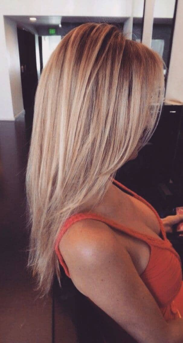Shoulder-Length  Straight Style