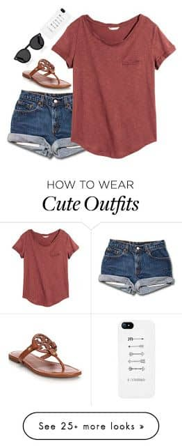 8dce153e83e1 27 Cool Jeans Short Outfits For This Summer