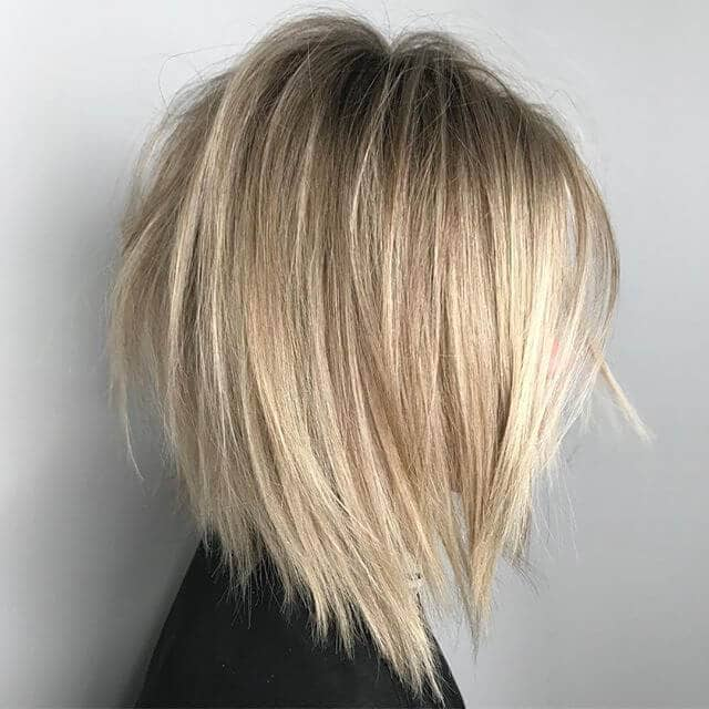 Rock'n Roll-Inspired Asymmetrical Bob