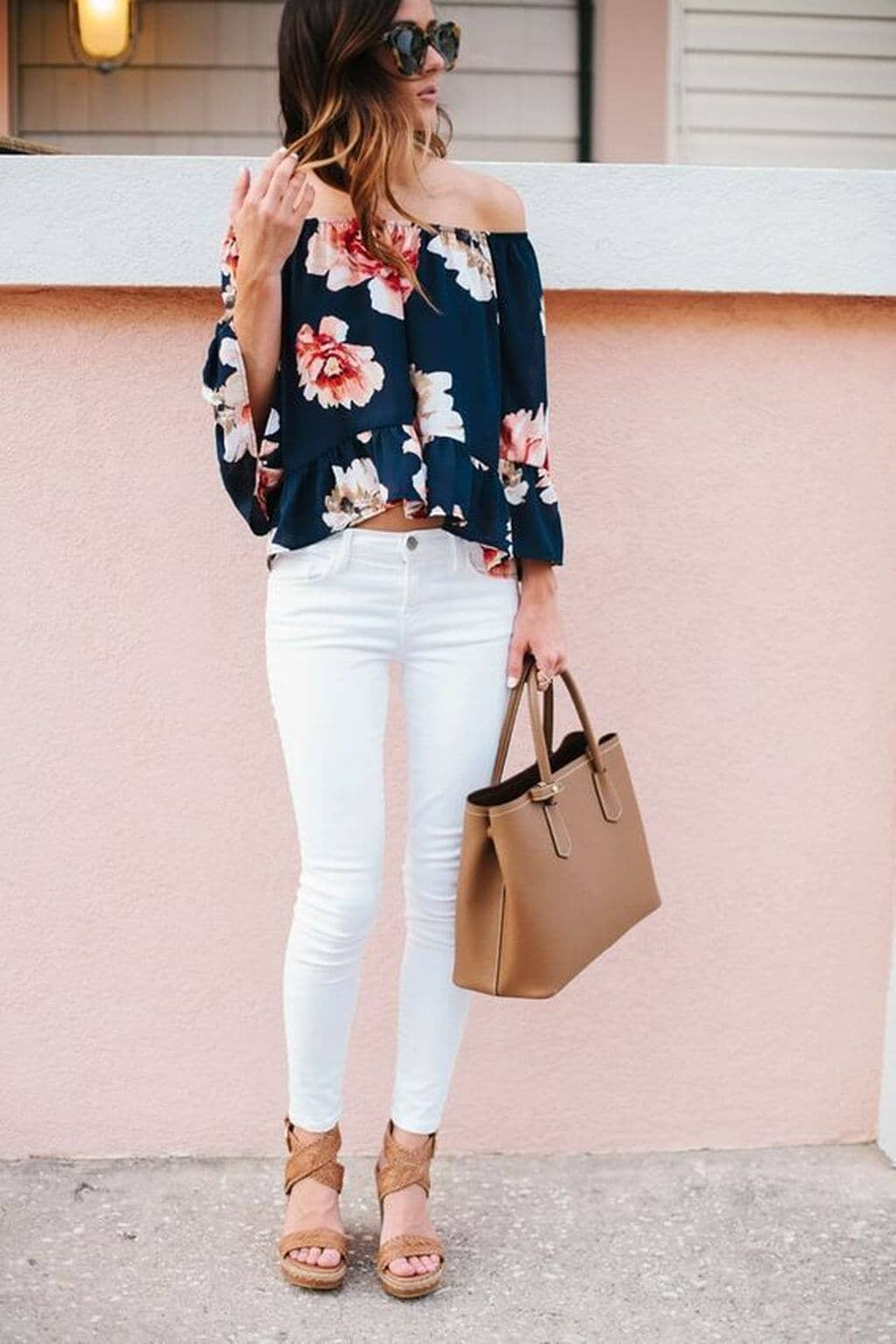Blooming Off the Shoulder Silhouette