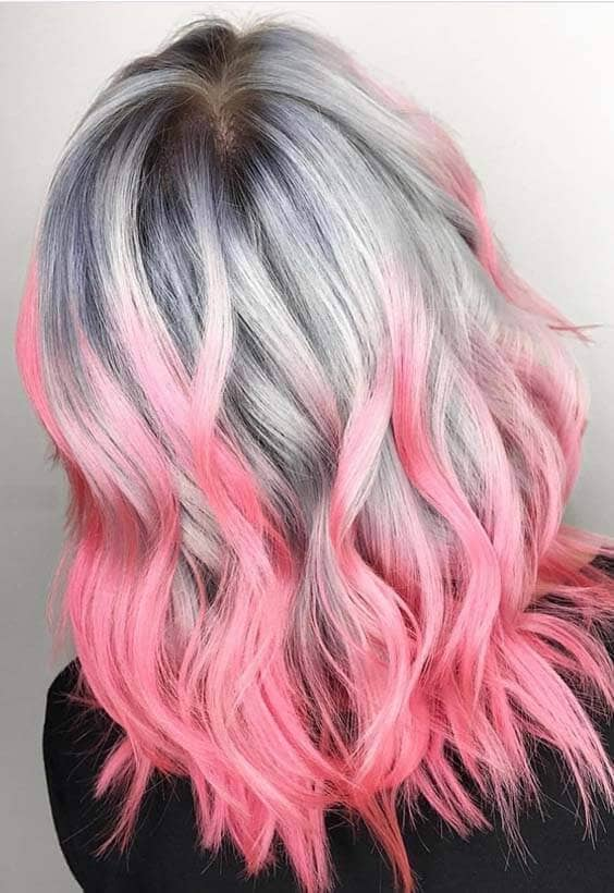50 Stunningly Styled Unicorn Hair Color Ideas To Stand Out