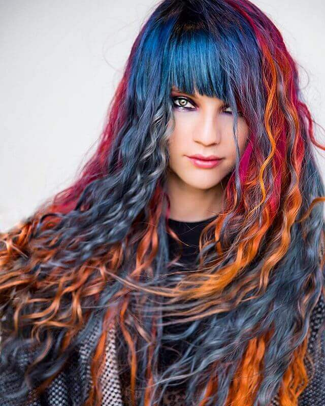50 Stunningly Styled Unicorn Hair Color Ideas To Stand Out From The