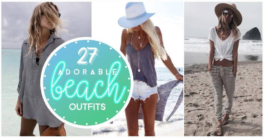 5cbd7cf4a99 27 Adorable Outfits To The Beach