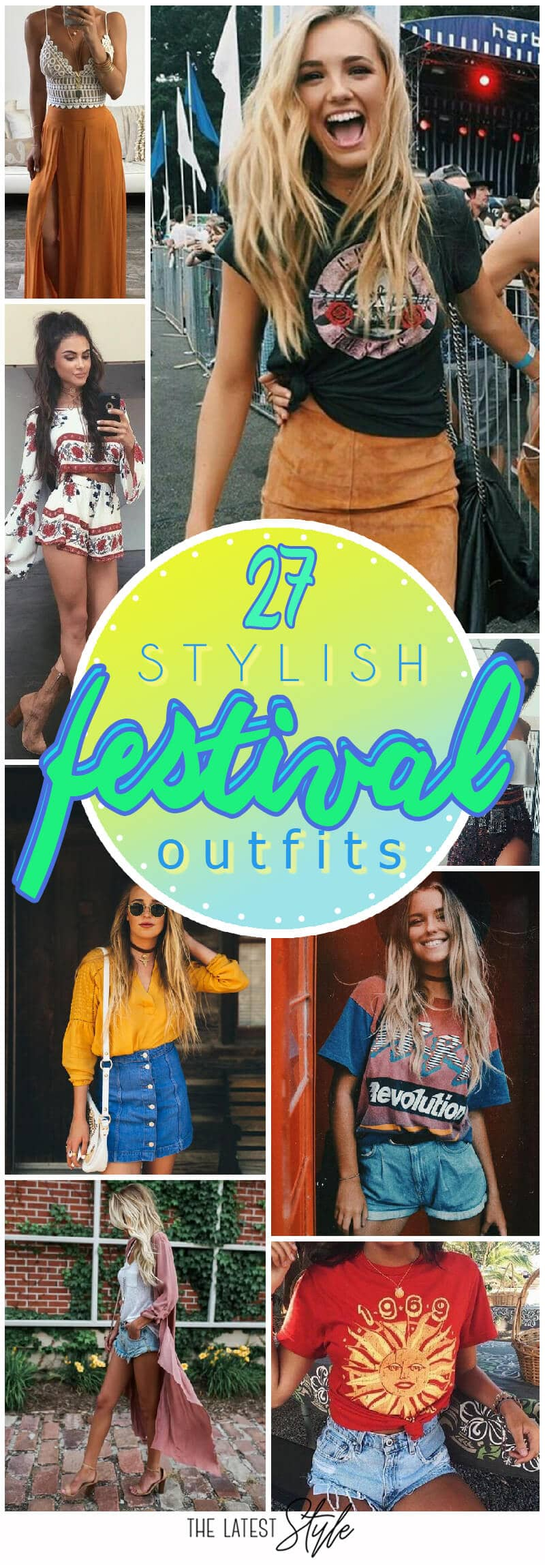 27 Stylish Festival Outfits For This Summer