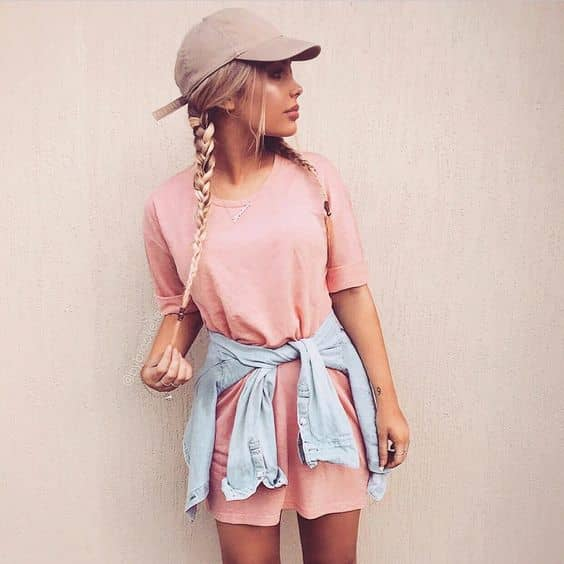 0eaa2ddc61af 1) A simple yet attractive summer t-shirt dress