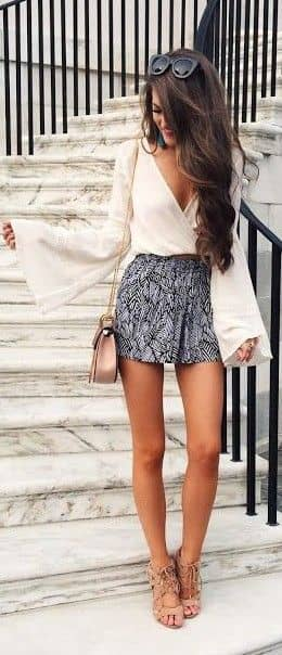 A Super Chic Bohemian Outfit Perfect for Work