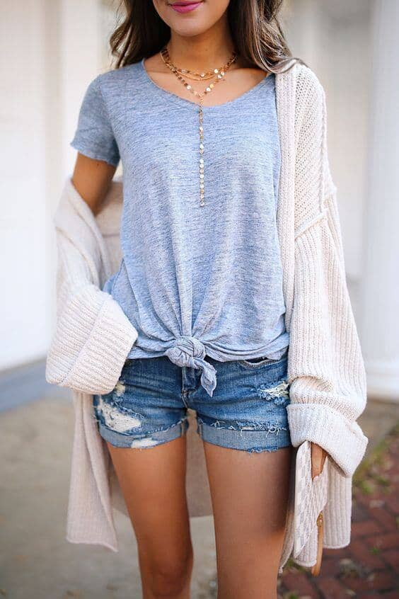 faefb73e4c44 29 Casual And Cute Summer Outfits