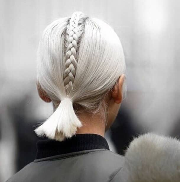 """Faux-hawk"" Cute Easy Hairstyle for Short Hair"