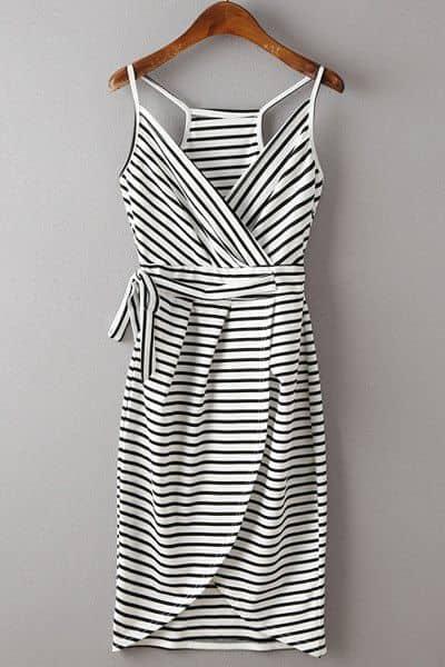 fa32f4a0535 29) A refreshing striped summer dress