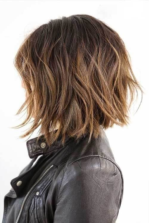 Messy Done Right Tousled Layered Bob