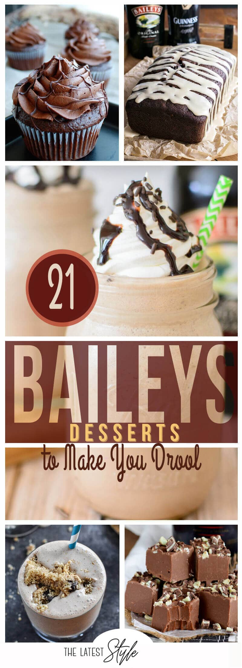 21 Fantastic Baileys Dessert Recipes that will Make You Drool