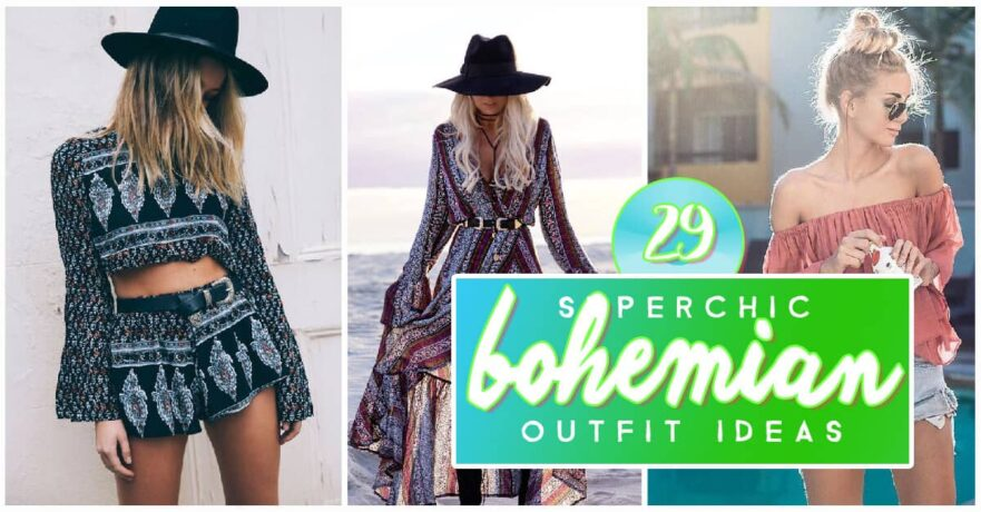 Bohemian Style Outfit Ideas