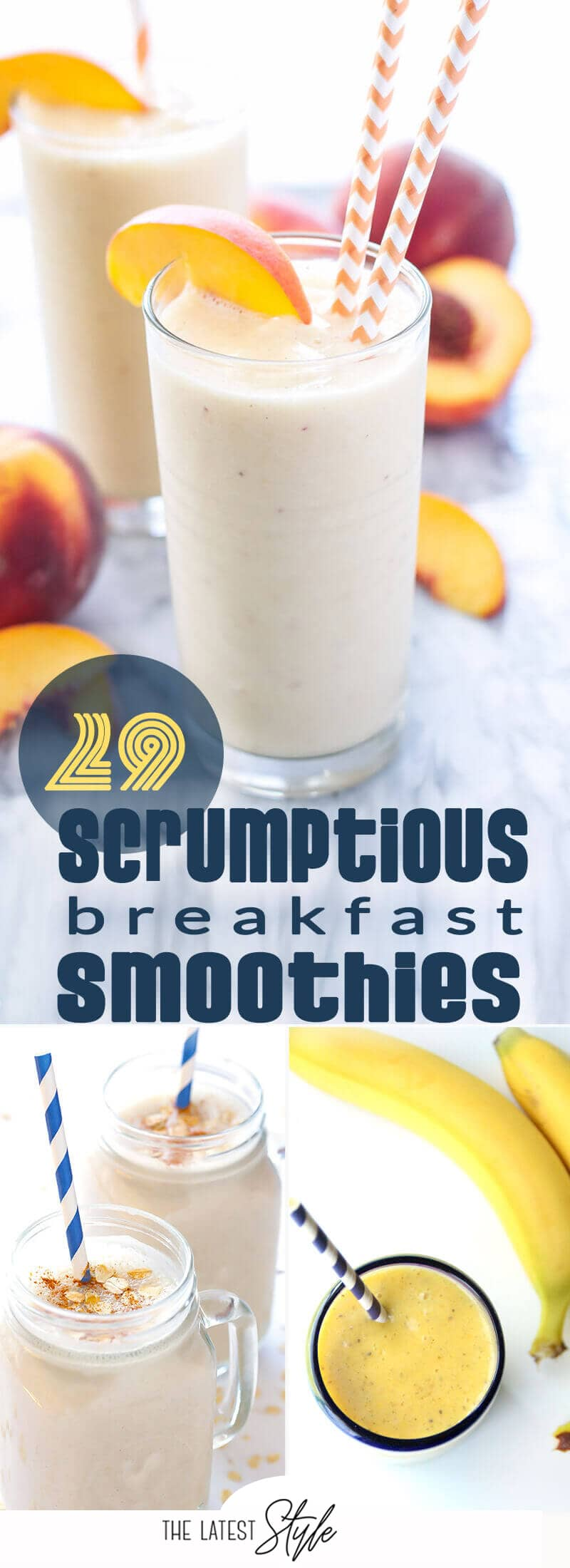 29 Breakfast Smoothie Recipes for a Delightfully Smooth Day