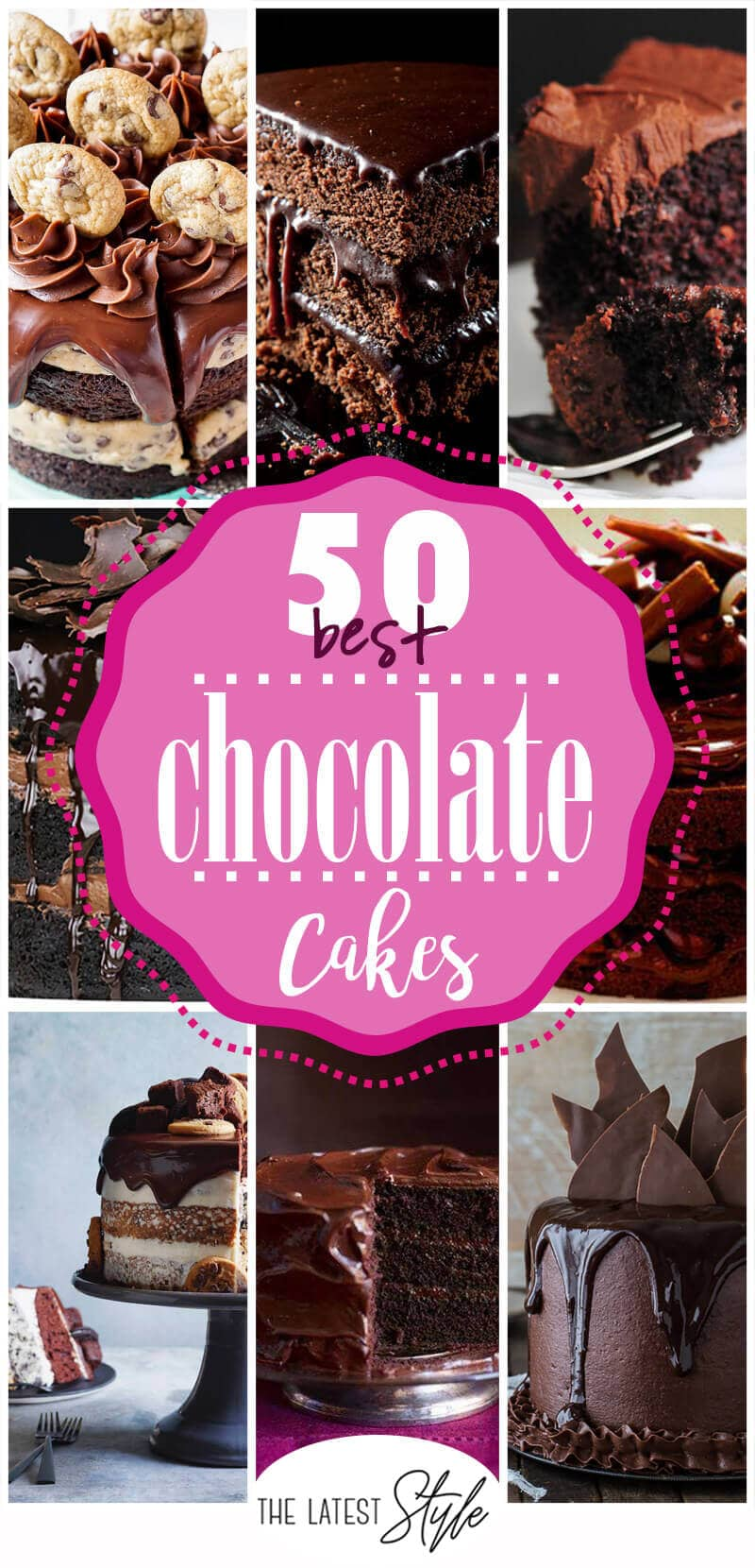 50 Chocolate Cake Recipes that are Simply Amazing
