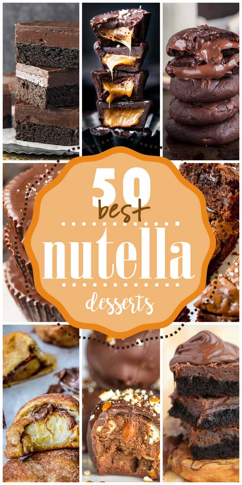 50 Best Nutella Dessert Recipes You Should Make In 2020