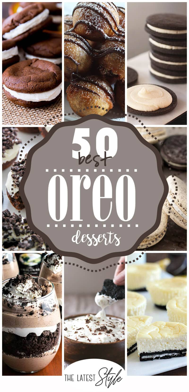50 Heavenly Oreo Dessert Recipes that You can't Live Without
