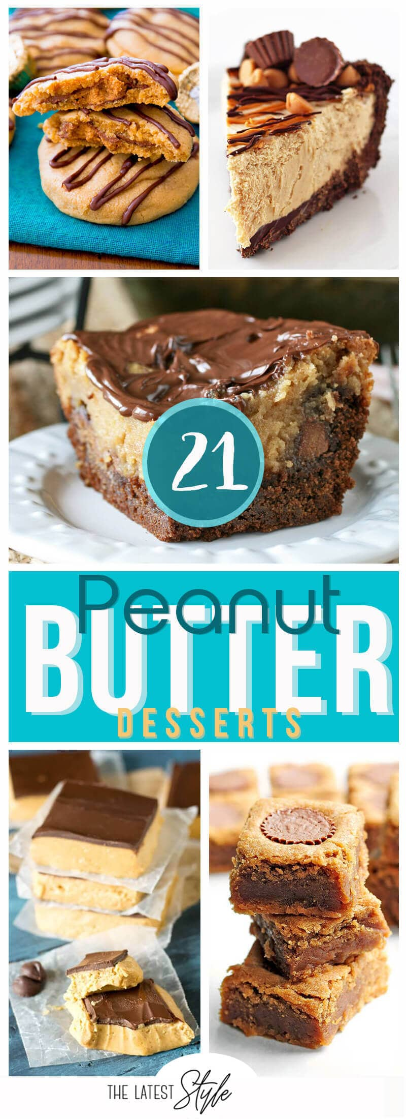 21 Creative Peanut Butter Dessert Recipes that will Rock Your World