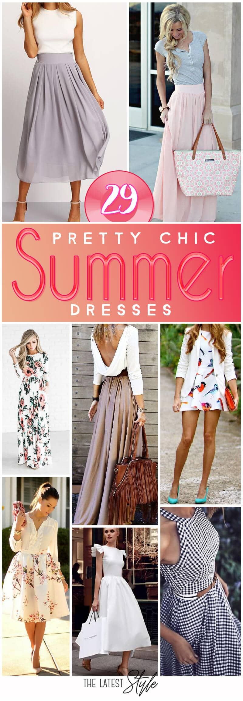 29 Pretty Chic Summer Outfits