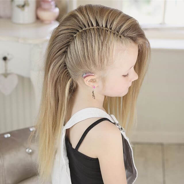 small girls hair style 50 pretty hairstyles for to show 5845 | 02 pretty little girl hair thecuddl