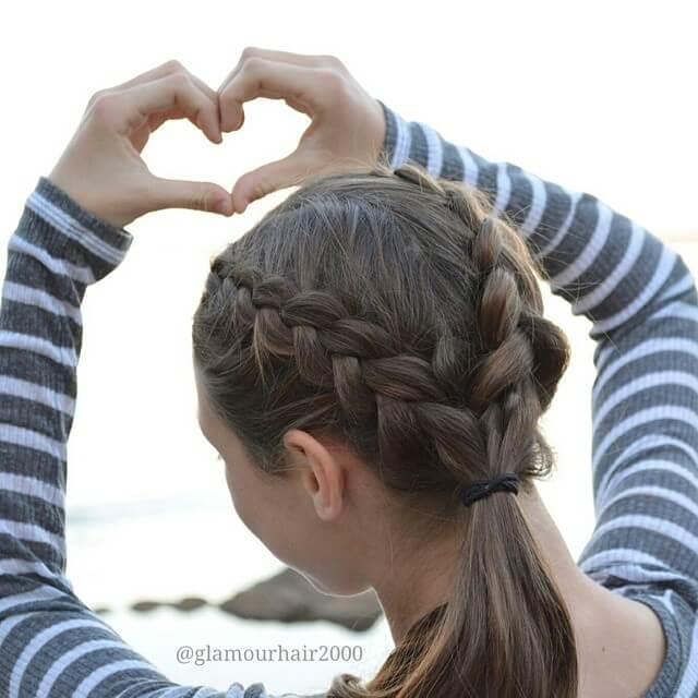 Лучшая любовная коса