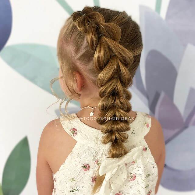 The Upside Down Heart Braid