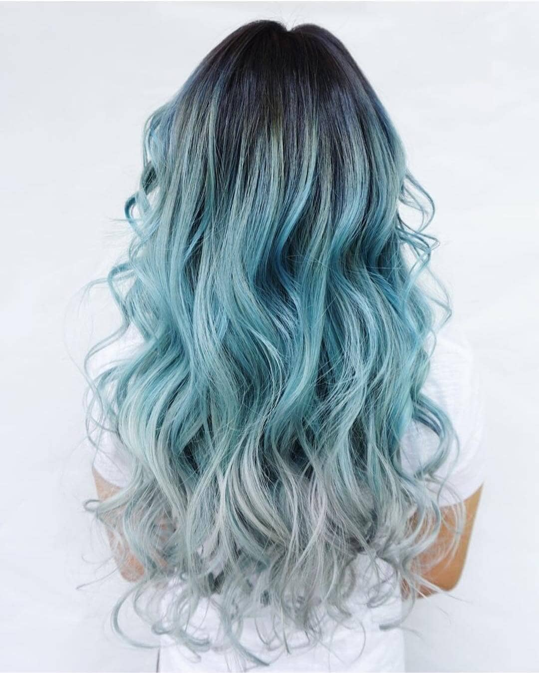 hair ombre style 27 cool blue ombre hairstyles 5407