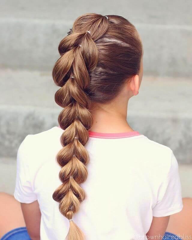 Моя большая маленькая коса хвост