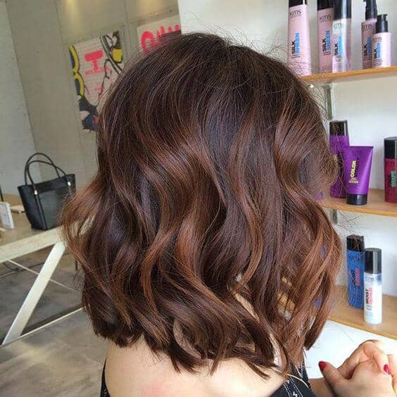 Wispy Long Waved Shoulder Bob