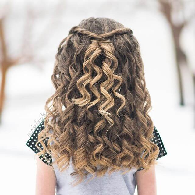 small girls hair style 50 pretty hairstyles for to show 5845 | 15 natural little girl hairstyle idea thecuddl